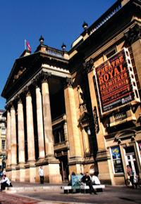 The Theatre Royal in Newcastle